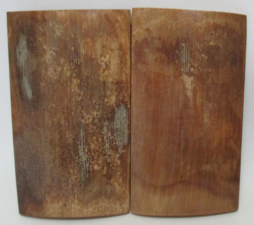 MAMMOTH IVORY SCALES 2-3/8 x 1-5/16 to 1-3/8 x 3/16