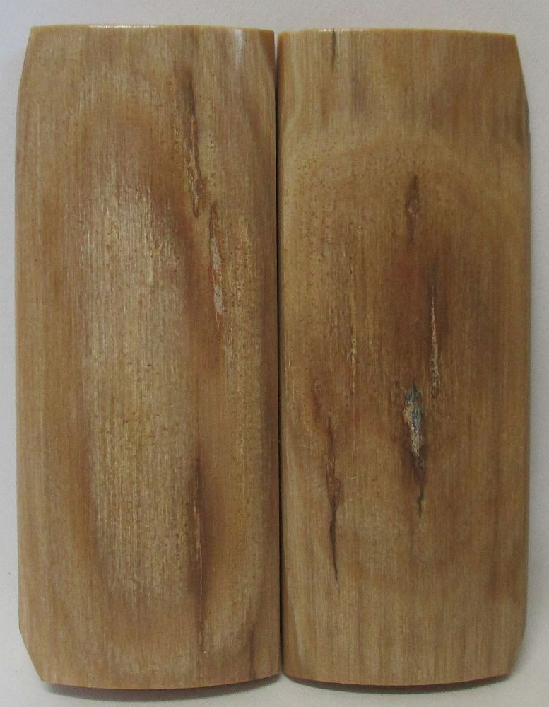 MAMMOTH IVORY SCALES 2-3/4 x 1-1/16 to 1-1/8 x 3/16