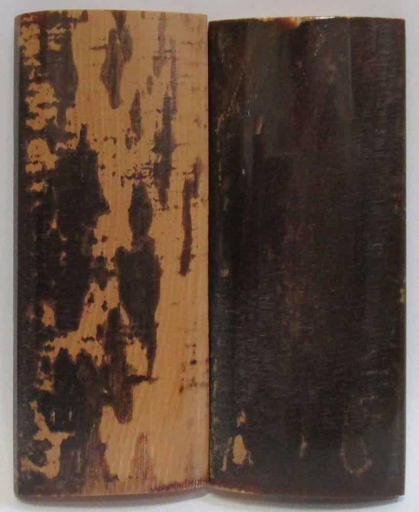 MAMMOTH IVORY SCALES 2-5/8 x 1-1/16 x 3/16