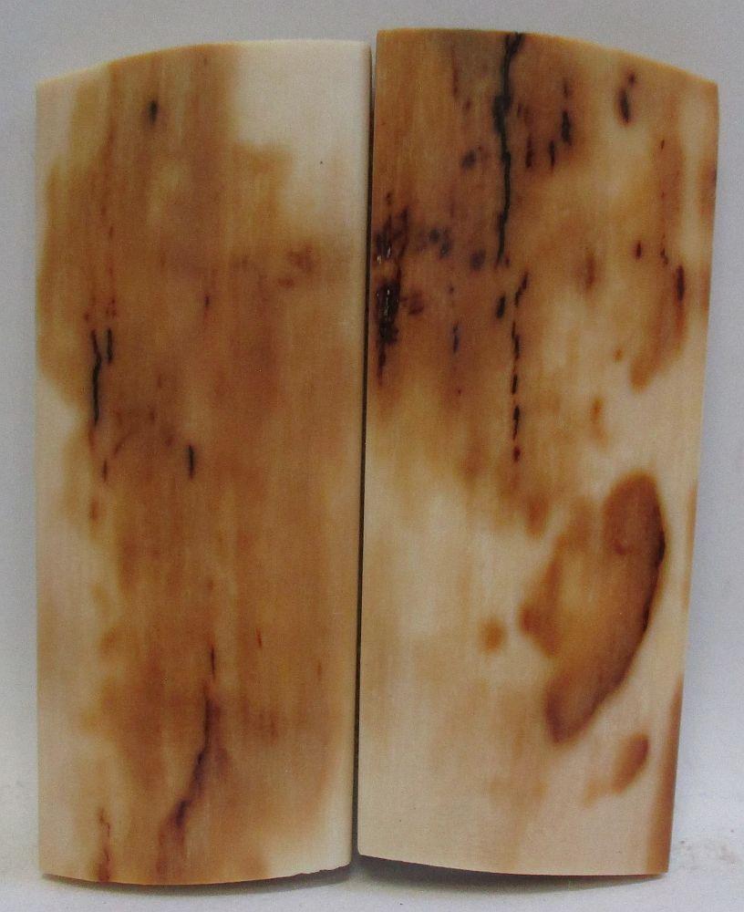 MAMMOTH IVORY SCALES 2-9/16 x 1-1/16 x 3/16