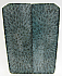 FOSSIL CORAL SCALES 3-5/8 x 1-1/4 to 1-3/8 x 1/8