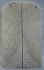 FOSSIL CORAL SCALES 4-1/8 to 4-3/8 x 1-5/16 x 3/16