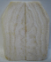 FOSSIL CORAL SCALES 2-1/2 to 3-3/8 x 1 to 1-5/16 x 1/8 to 5/32