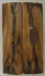 MAMMOTH IVORY SCALES 2-13/16 to 2-7/8 x 3/4 x 1/8