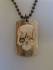 MAMMOTH IVORY DOG TAGS